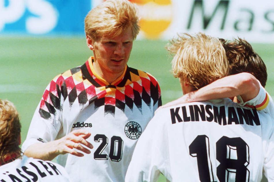Stefan Effenberg sorgte im Dress der deutschen Nationalmannschaft für einen Eklat.