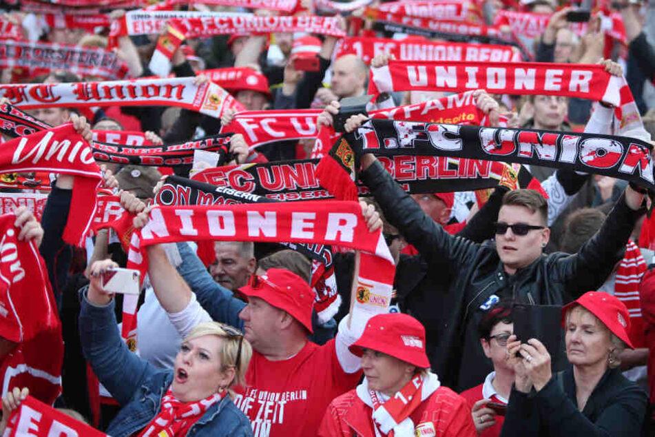 Union-Fans feierten erst kürzlich den Aufstieg ihrer Mannschaft in die Bundesliga.