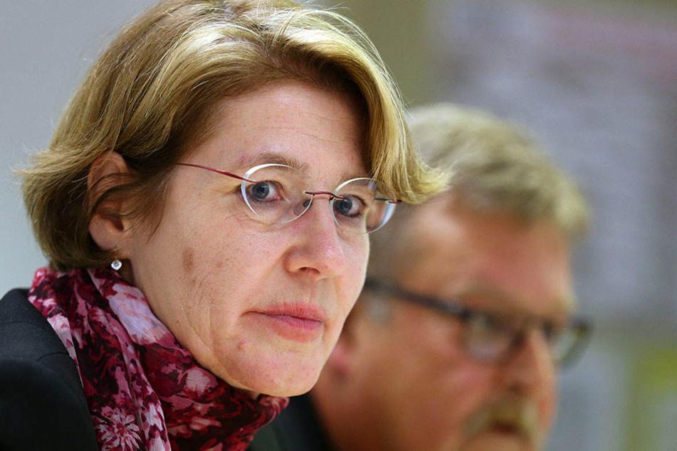 Ulrike Bahr, Vorsitzende der Augsburger SPD, und ihr Stellvertreter Michael Knuth.