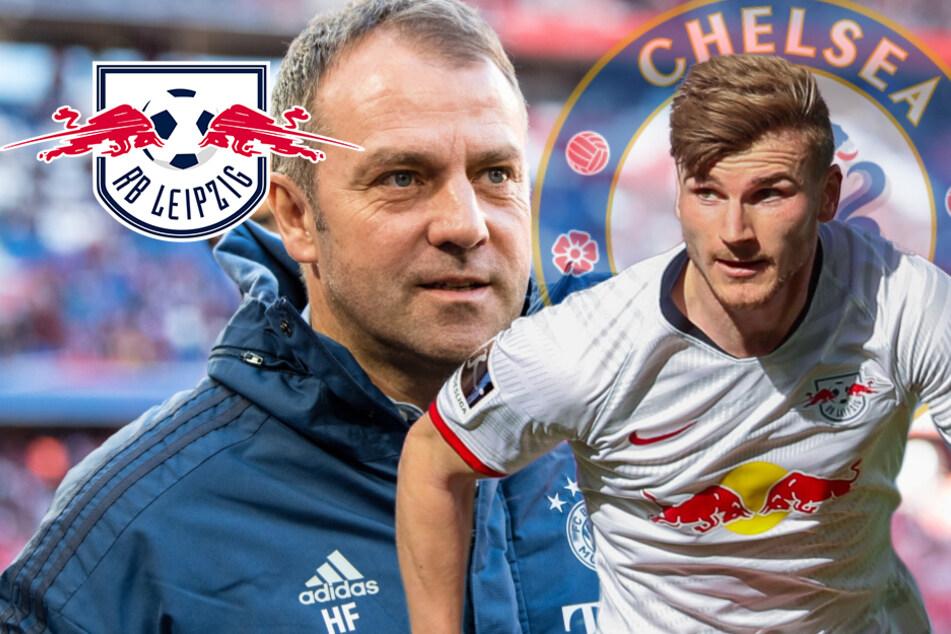 Bayern-Coach Flick gratuliert Werner schon zum Chelsea-Wechsel
