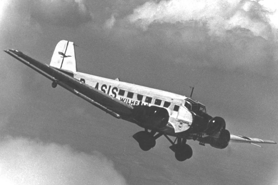 In dieser Form prangte der Kranich in den 30er und 40er Jahren auf Lufthansa-Fliegern.