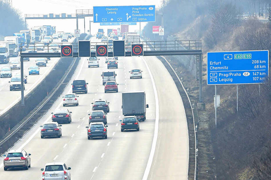 Auch in diesem Jahr werden auf Sachsens Autobahnen so einige Abschnitte saniert - z.B. zwischen Dresden-Altstadt und der Raststätte Dresdner Tor an der A4.