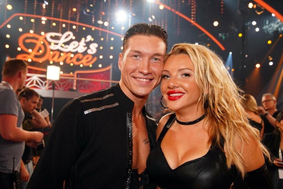 Evelyn Burdecki (30) und Evgeny Vinokurov (28) schieden in der 10. Live-Show aus.