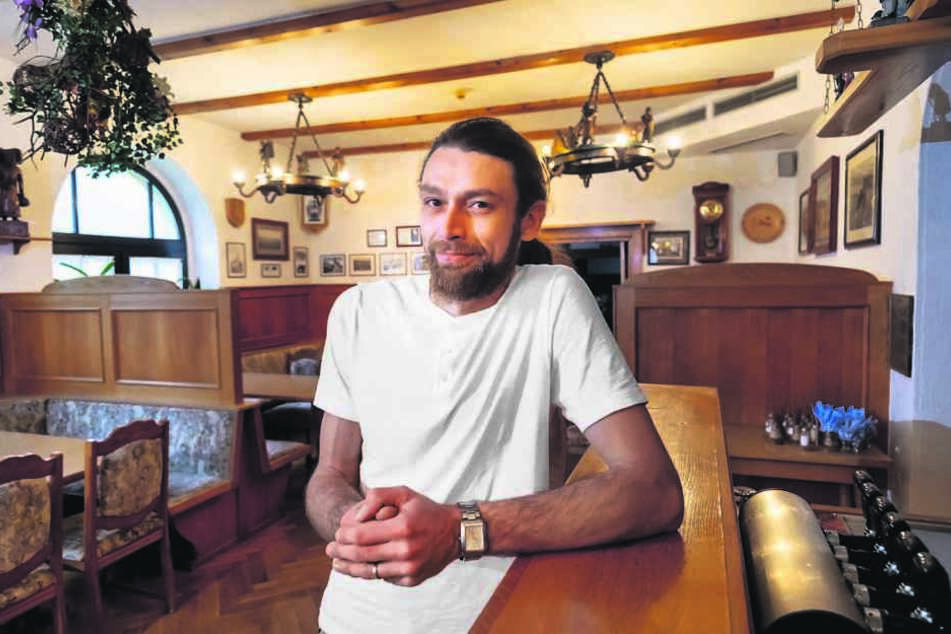 Roland Knappe (32) hat als Pächter auf dem Bärenstein alles gegeben. Am Ende sollte es nicht sein.