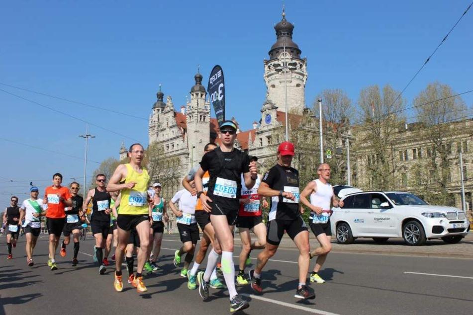 Am 14. April geht der Leipzig-Marathon in seine 43. Auflage.