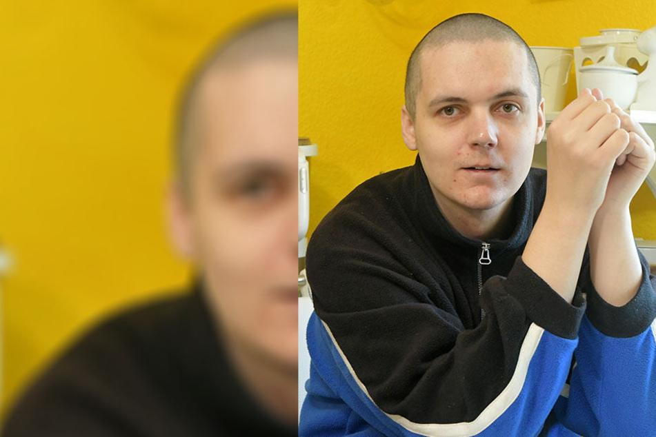 """""""Mir geht es wieder gut!"""" - David Altermann (29) leidet an Schizophrenie. Seine Krankheit hat er aber im Griff."""