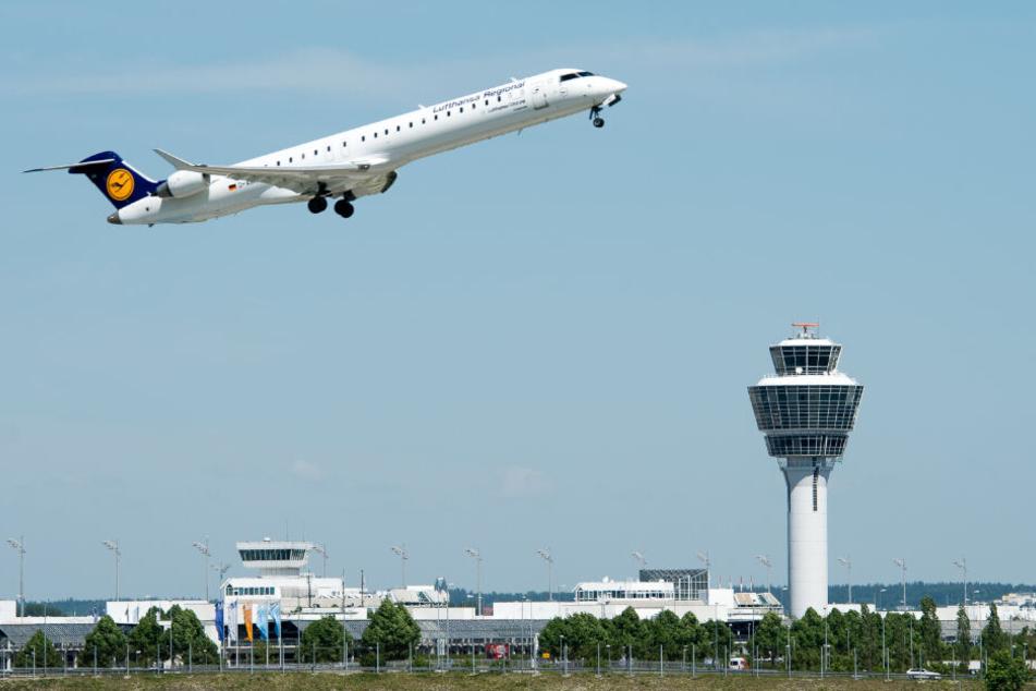 46,25 Millionen Menschen wurden über den Flughafen München im Jahr 2018 befördert.