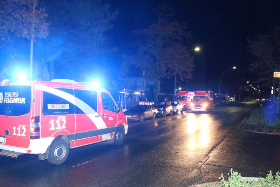 Frau stirbt bei Feuer in Berliner Wohnung