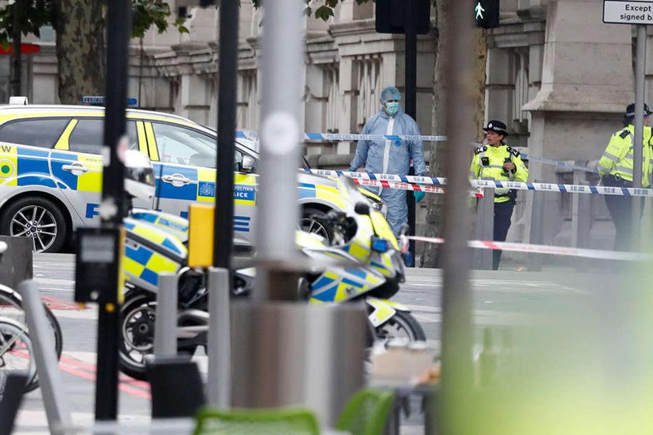 Bei dem Vorfall in London wurden circa 11 Menschen verletzt. Keiner war in Lebensgefahr