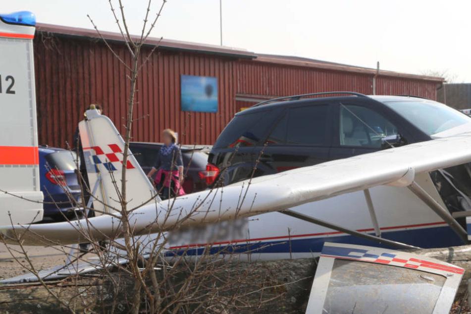 Flugzeug stürzt in die Tiefe: Bruchlandung endet für 54-Jährigen tödlich