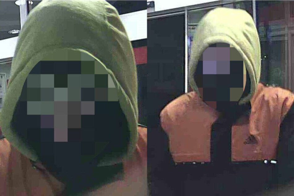 Mit den Aufnahmen einer Überwachungskamera fahndete die Polizei nach dem jungen Räuber.