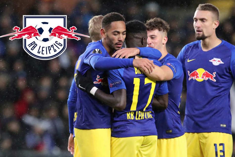 """RB Leipzig mit Frustbewältigung nach Salzburg-Schlappe: """"Wieder richtig zusammengerückt"""""""