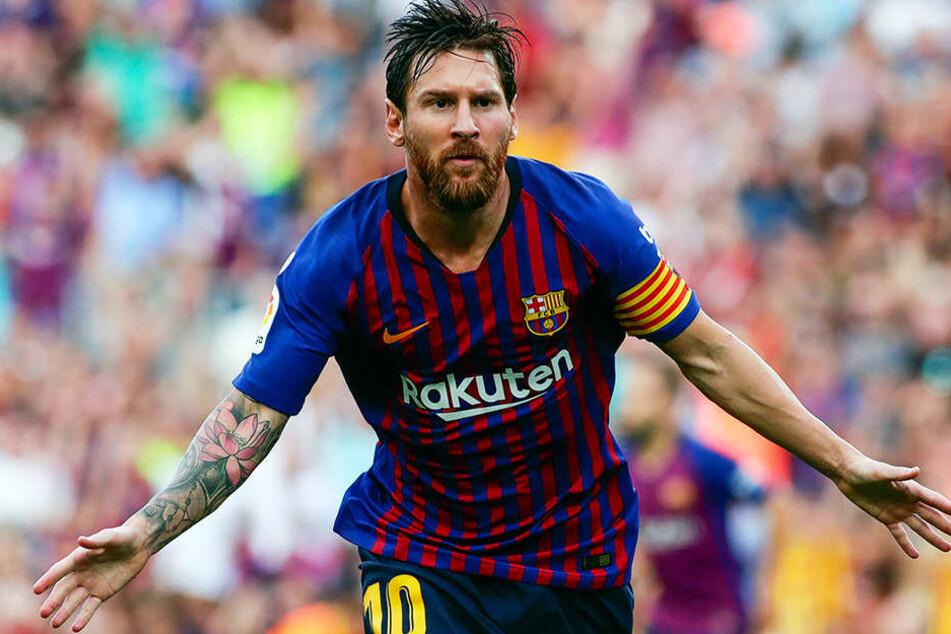Wird Ende Januar 2019 aller Voraussicht nach mit Barcelona in Miami ein La-Liga-Pflichtspiel bestreiten: Lionel Messi.