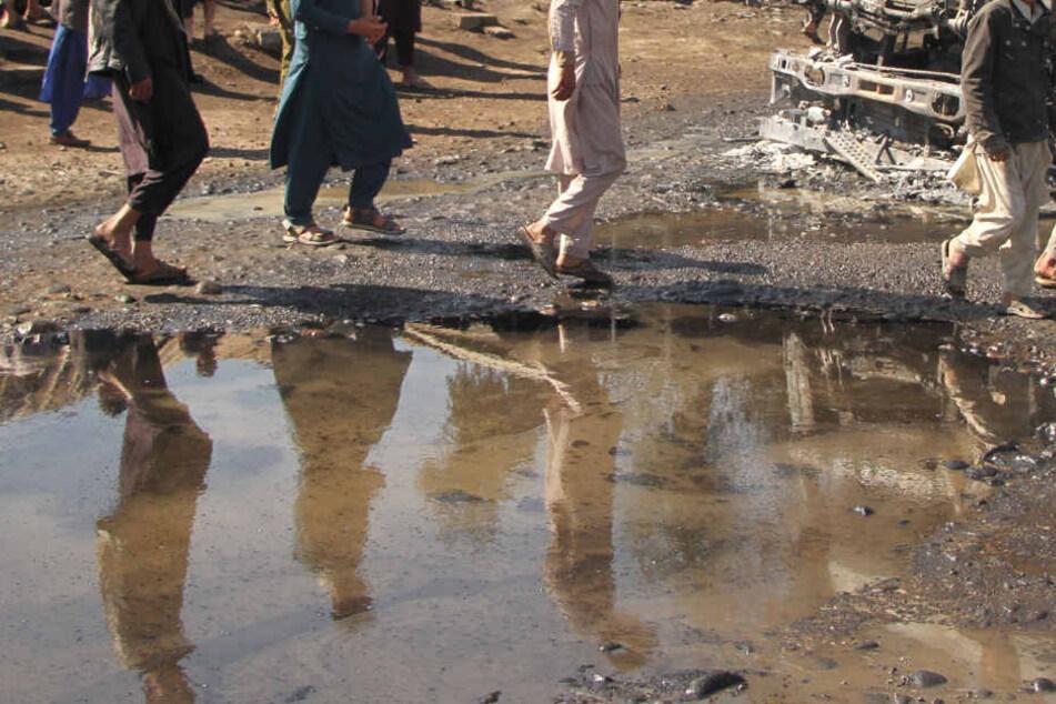 In Afghanistan beginnen nach schweren Überschwemmungen die Aufräumarbeiten.