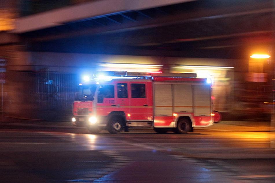 Die Feuerwehr war schnell vor Ort, konnte aber nicht alle Bewohner retten. (Symbolbild)