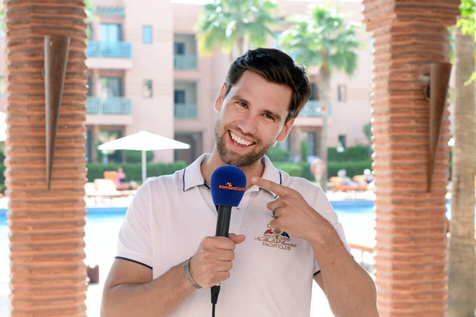 """Beim Sender """"Sonnenklar.TV"""" lief es für Alexander Keen (34) nicht allzu prickelnd."""