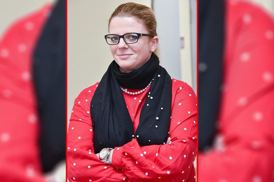 Susanne Schaper (40, Linke) hält am Donnerstag im Landtag eine Rede zu Karl Marx.