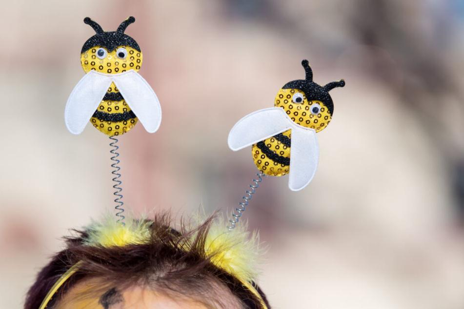 Die Biene wurde zum Wappentier des Volksbegehrens.