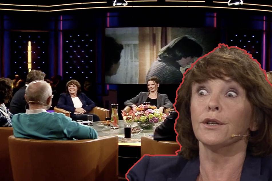 """Geht's den Tieren denn auch gut?"", fragt sich Schauspielerin Kathrin Sass."