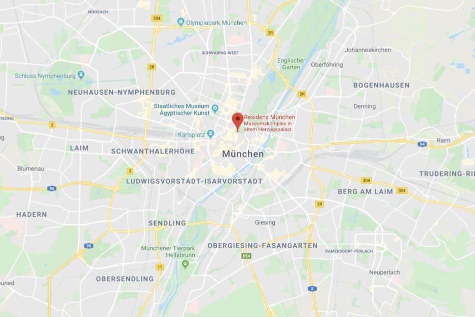 In der Residenzstraße in München ist es zu einem spektakulären Einbruch gekommen.