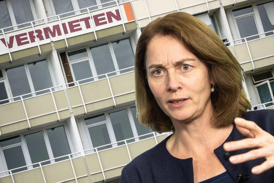 Bundesjustizministerin Katarina Barley (49, SPD) nimmt Veränderungen an der Mietpreisbremse vor. (Bildmontage)