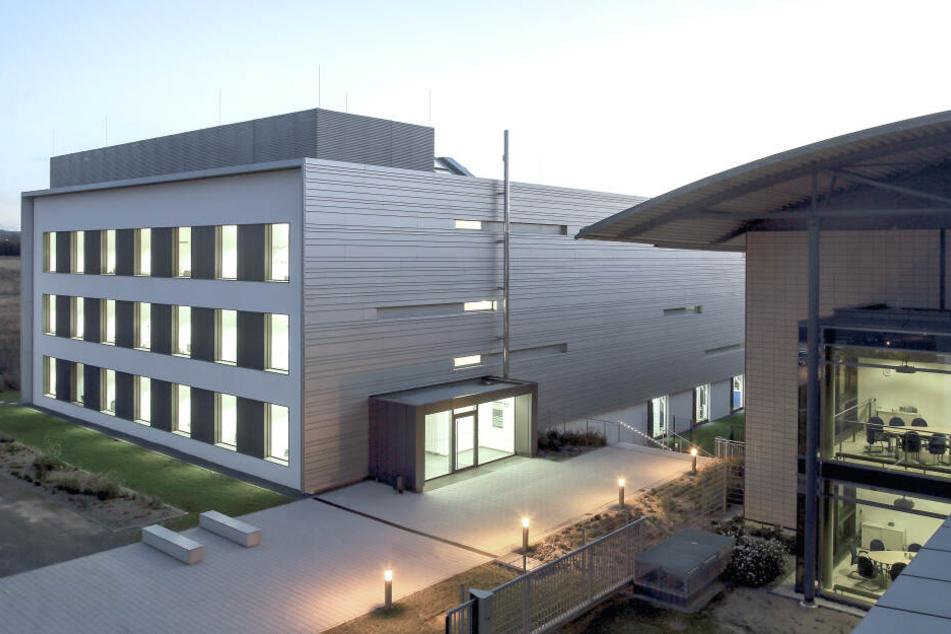 Das Fraunhofer-Institut für Werkzeugmaschinen und Umformtechnik IWU (kurz: Fraunhofer IWU) in Chemnitz.