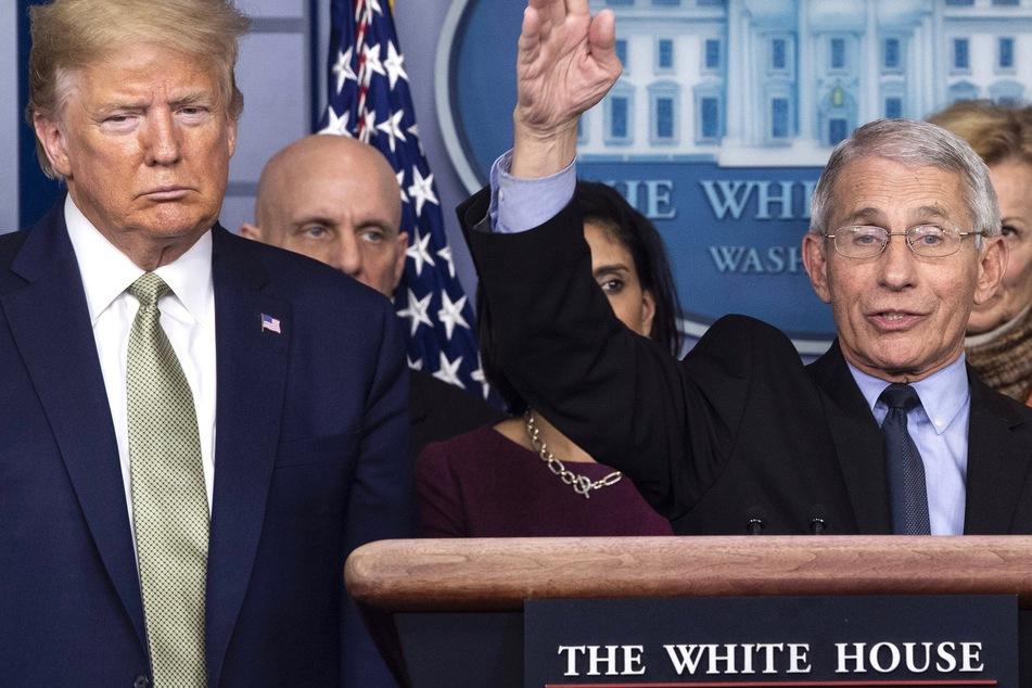 "Trump slams virus expert Fauci as a ""disaster"" as election day nears"
