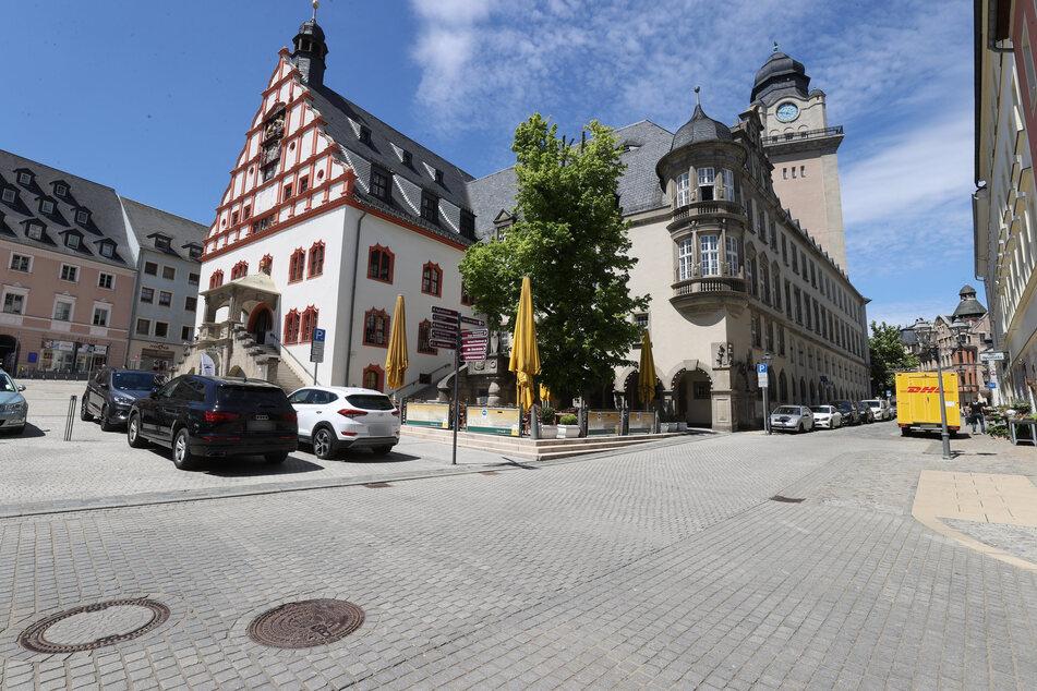 Einbrecher suchten das Plauener Rathaus heim.