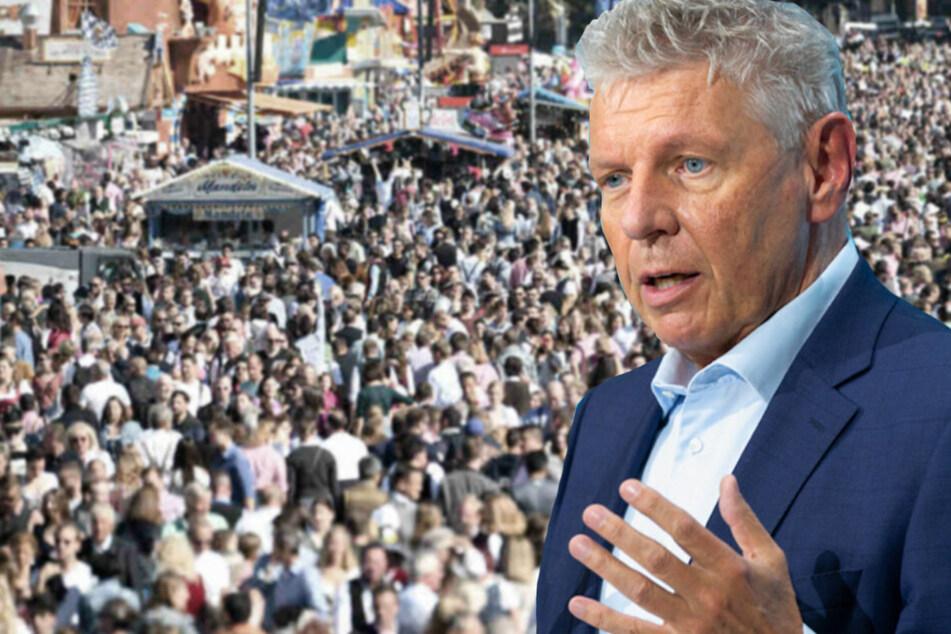 Münchens Oberbürgermeister Dieter Reiter (63) möchte im April 2022 die Entscheidung über die kommende Wiesn verkünden können.