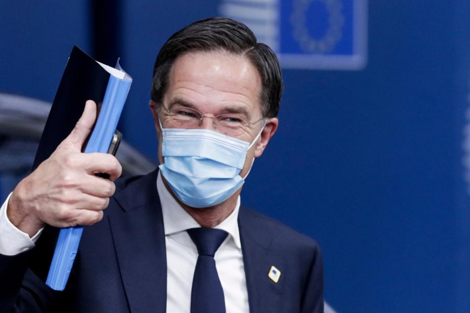 Hollands Ministerpräsident Mark Rutte (53).