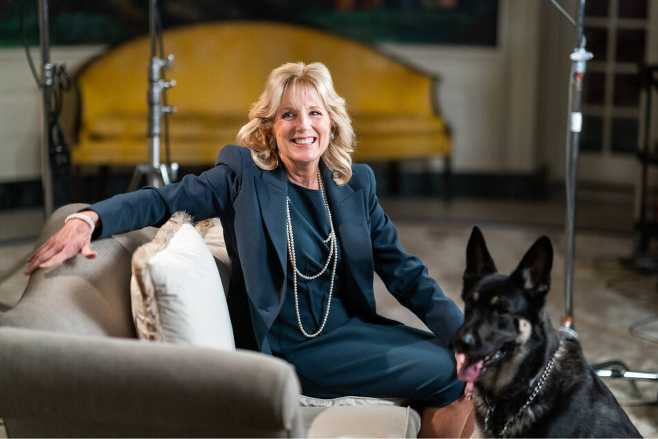 """The Bidens' dogs are getting company: """"She's waiting in the wings"""""""