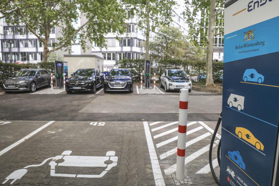 Strom tanken beim Shoppen: EnBW baut Schnellladeparks für E-Autos aus