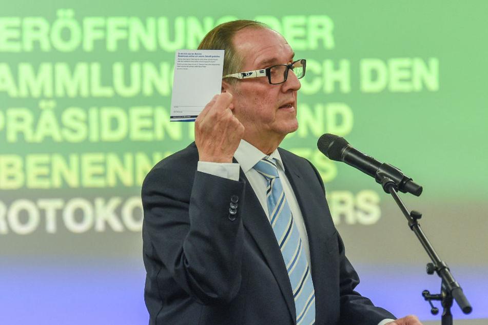 Hans-Jürgen Laufer entschuldigte sich für mangelnde Kommunikation seitens des Vereins.