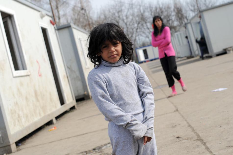 Auch die Kinder von Sinti und Roma sind häufig von Diskriminierung betroffen.