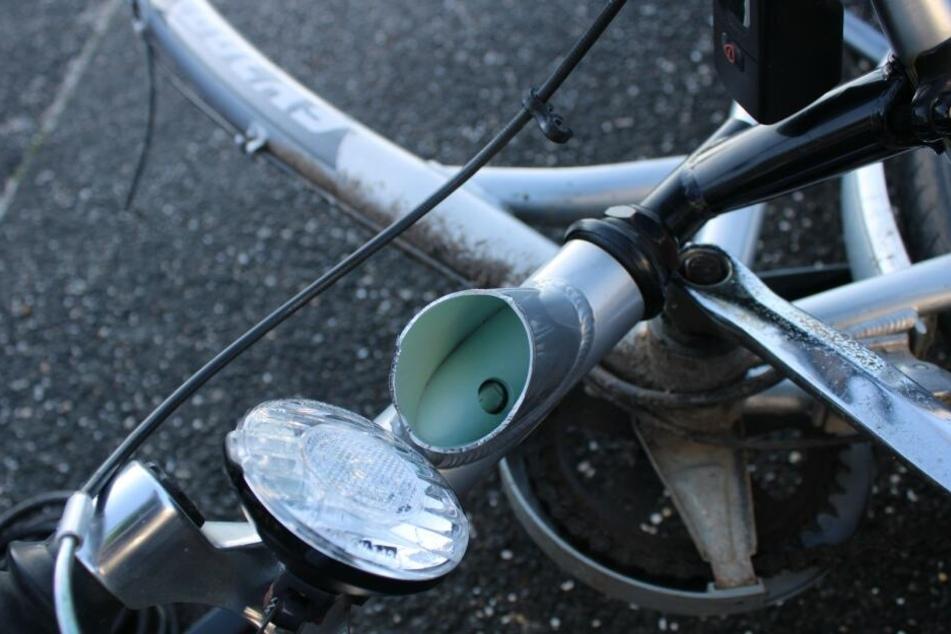 Die Fahrradteile wurden von der Polizei sichergestellt.