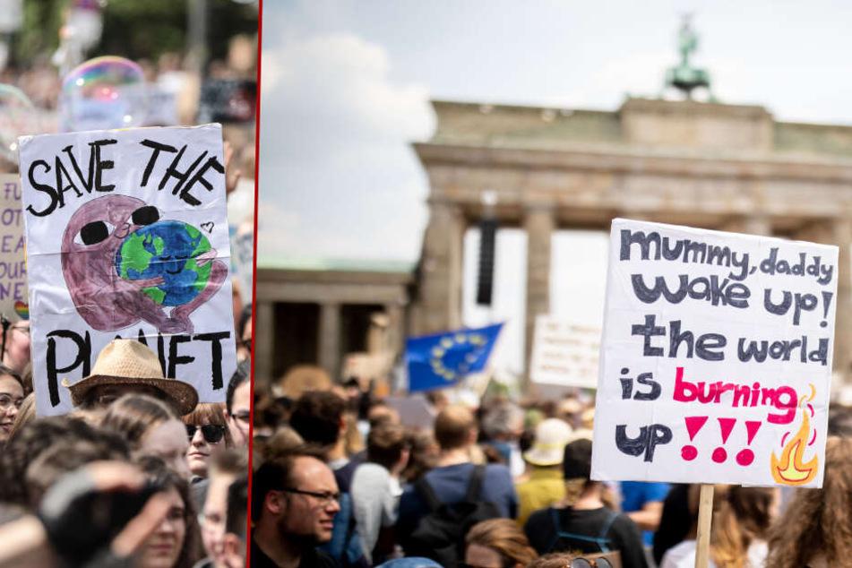 """Keine Ferien für """"Fridays for Future"""": Umwelt-Proteste in Berlin gehen weiter"""