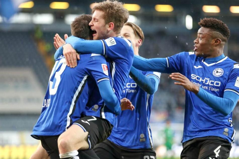 Auch bei Greuther Fürth möchten die DSC-Kicker wieder über einen Sieg jubeln.