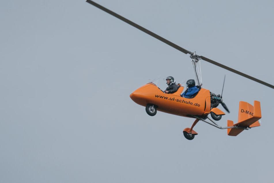 Tragisches Flug-Unglück! Mann hebt mit Gyrocopter ab, dann ...