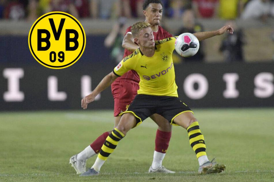 Sorgen beim BVB: Hazard und Brandt fehlen im Training