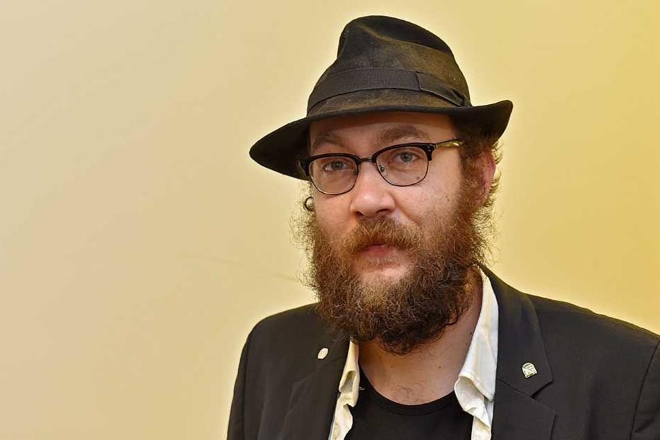 Wehrte sich erfolglos gegen eine Strafzahlung: Partei-Chef Max Aschenbach (32).
