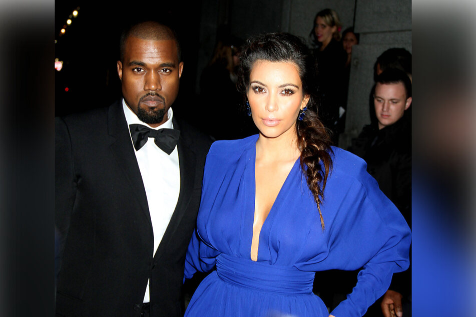 Kanye West and Kim Kardashian were married in 2014 (archive image).