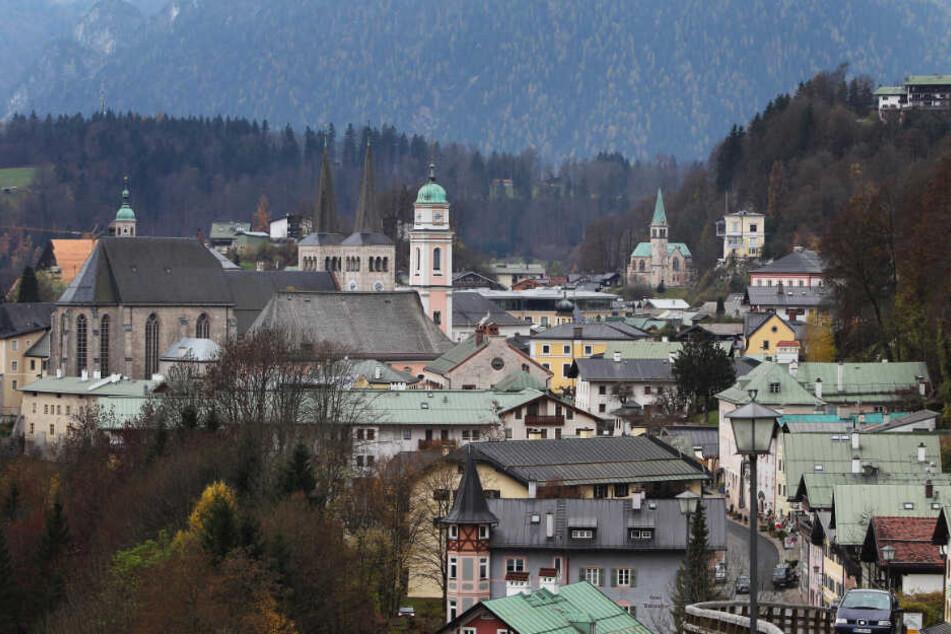 Blick über Berchtesgaden.