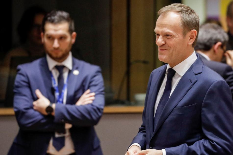 Donald Tusk als Ratspräsident wiedergewählt. Polen ist empört.