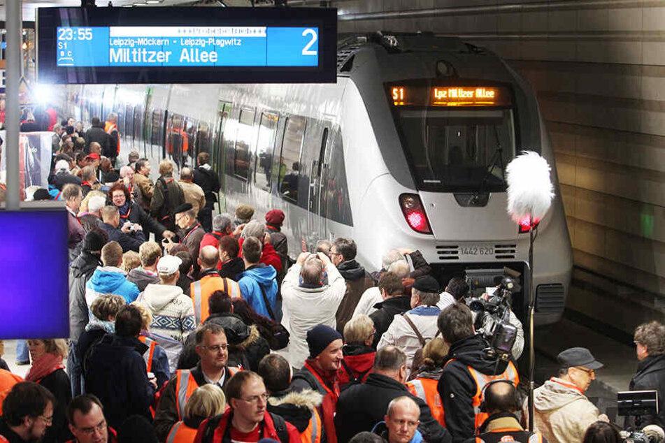 Ab Leipzig-Stötteritz ist bis Samstagnachmittag Schienenersatzverkehr im S-Bahnverkehr eingerichtet.