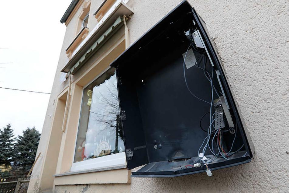 In zwei Stadtteilen wurden wieder Automaten gesprengt. (Archivbild)