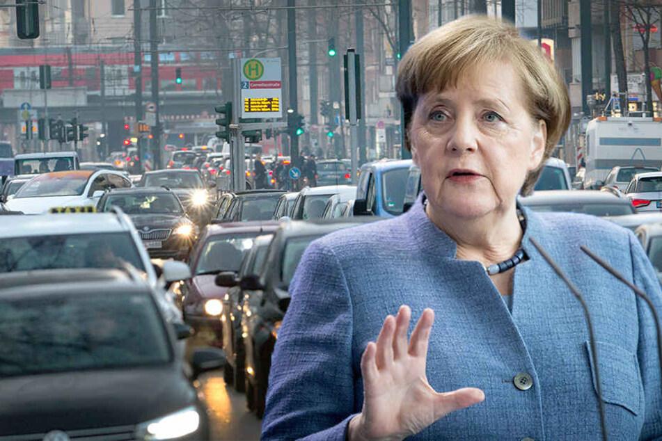 Bundeskanzlerin Angela Merkel geht davon aus, dass das Diesel-Urteil nur begrenzte Folgen hat.