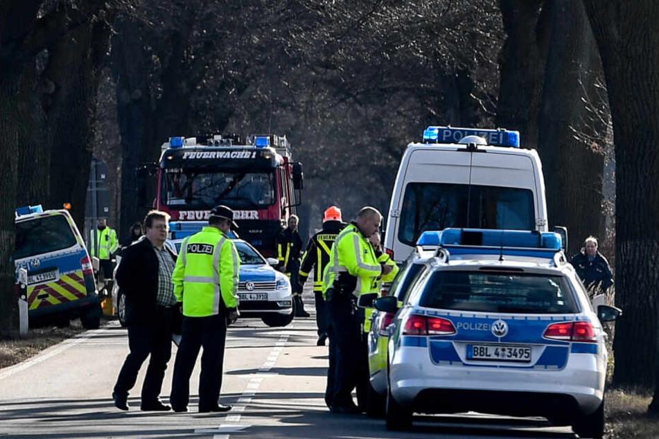 Der Mann hatte auf der Flucht vor der Polizei zwei Beamte überfahren.