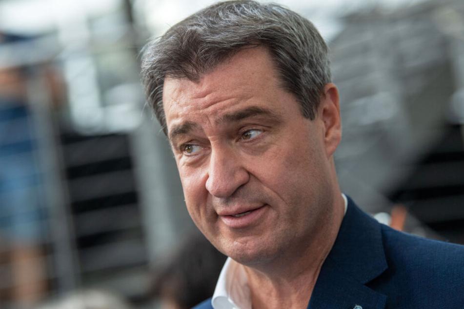 Markus Söder (CSU, 52), Ministerpräsident von Bayern, möchte dass Bayern schon vor 2050 klimaneutral wird.