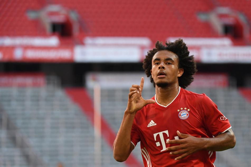 Joshua Zirkzee (19) vom FC Bayer München könnte vor einem Winter-Transfer zum 1. FC Köln stehen.