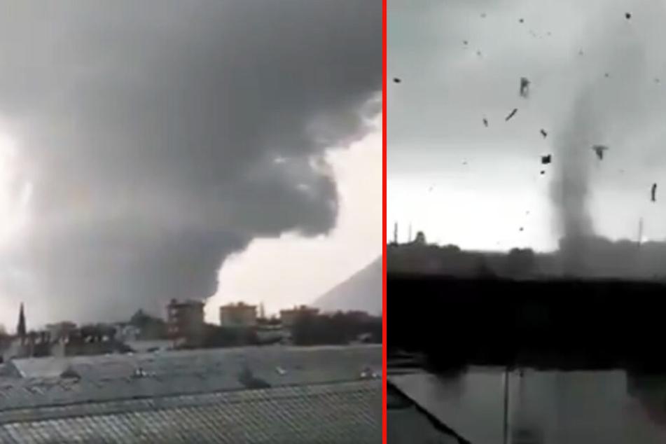 Tornado reißt alles mit sich: Mädchen (13) von Trümmern erschlagen